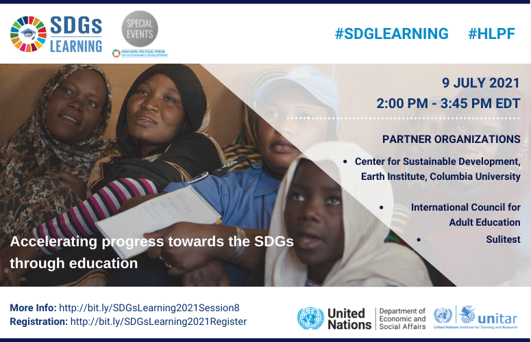 Accelerating progress towards the SDGs