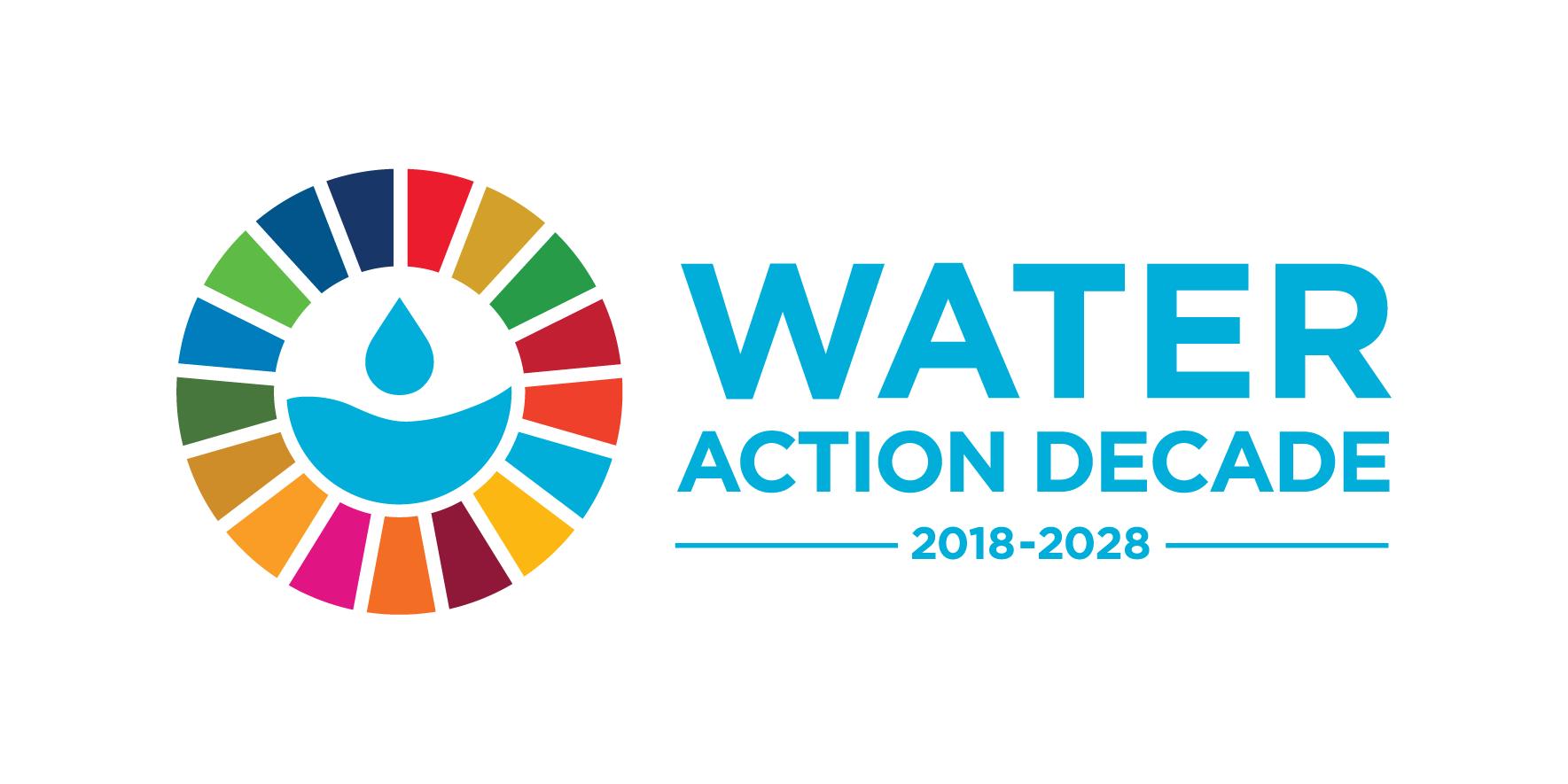 Water Action Decade Logo