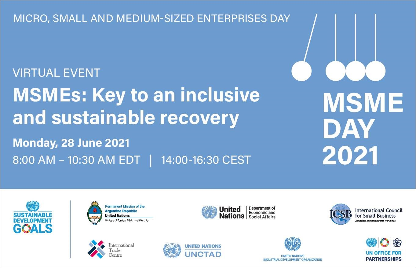 MSMEs: Key to an inclusive and sustainable recovery