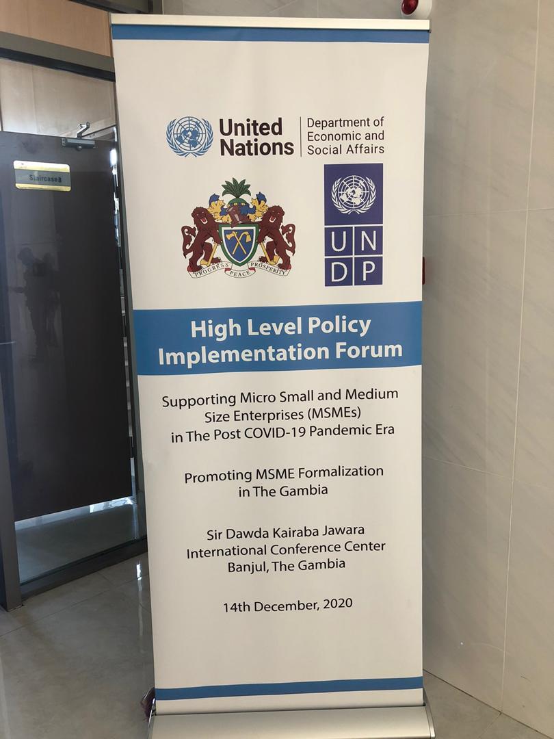 MSME Forum_Gambia1