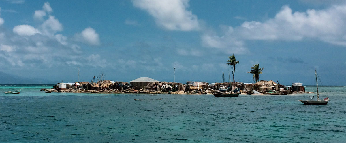 A small island along the Southern coast of Haiti.