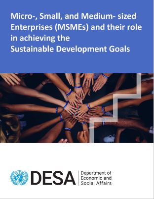 Cover photo - MSMEs and SDGs