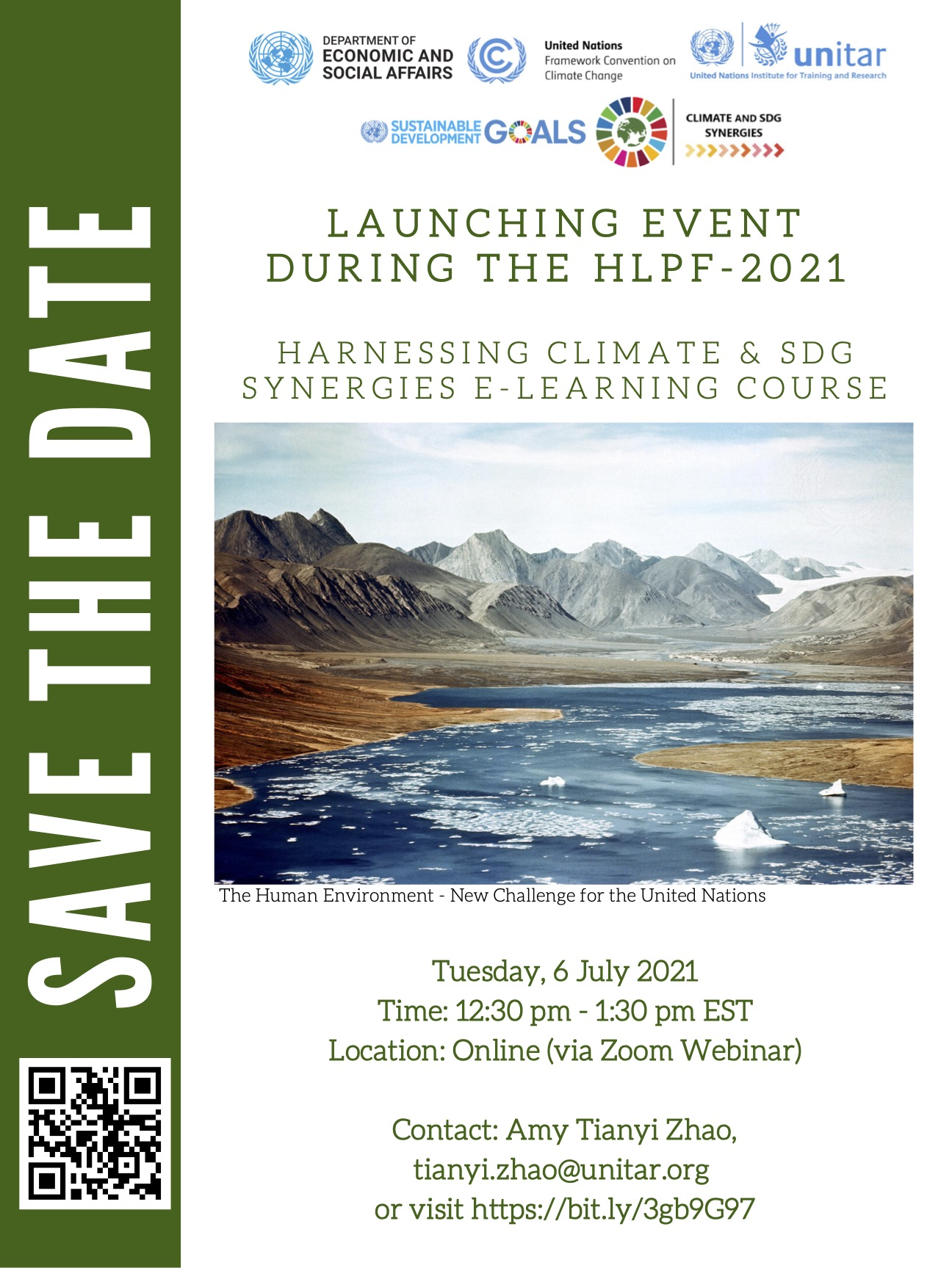 Save the date launch