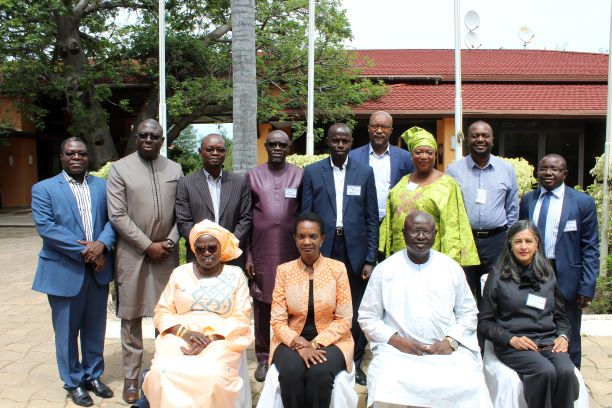 Gambia National Workshop group photo taken by MoTIE 18 Sept 2019.JPG